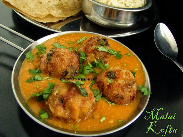 Malai Kofta   Step by step pictures