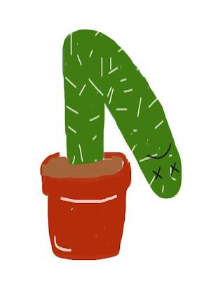 My Art - dead cactus