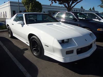 Almost Everything's Car of the Day is a 1987 Chevrolet Camaro IROC--Before Painting--After Painting