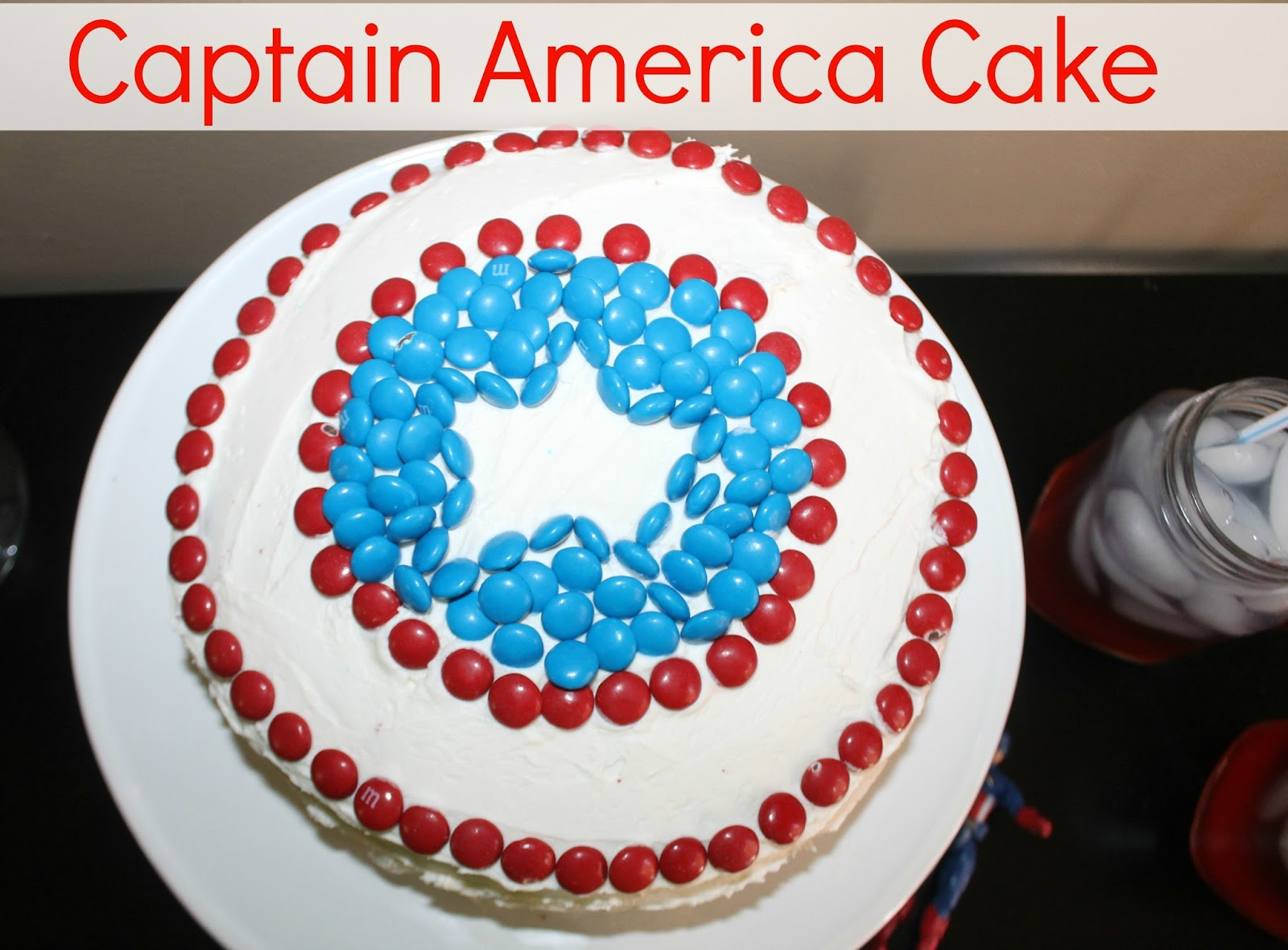 Captain America Shield Cake Recipe A New Dawnn
