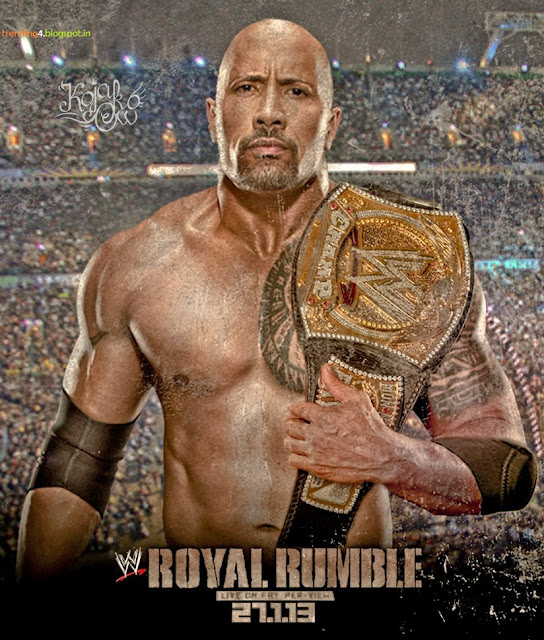 Royal Rumble 2013 Latest News WWE Championship Photos/Images Videos The Rock CM Punk LIVE