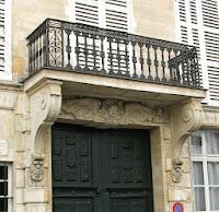 Balcon du 22 quai de Béthune à Paris