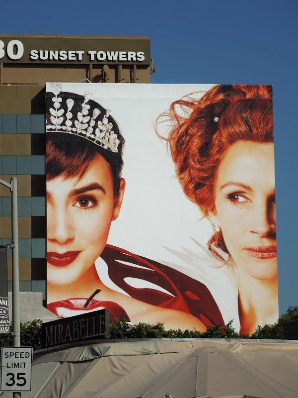 Mirror Mirror billboard ad