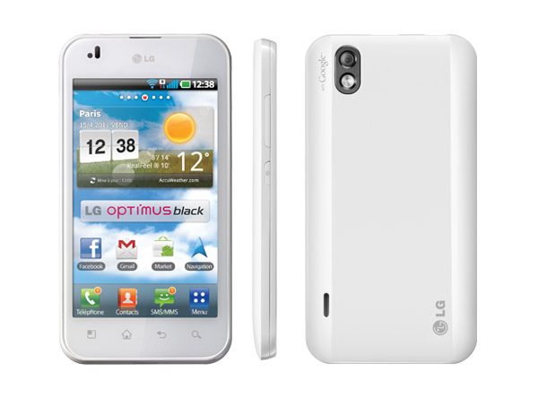 LG Optimus Black white version
