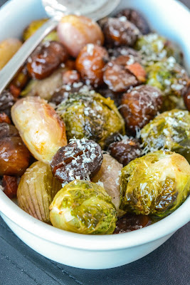 braised fennel chestnuts shallots