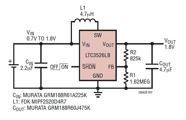 Tiny Synchronous Step-Up Converter Design Guide