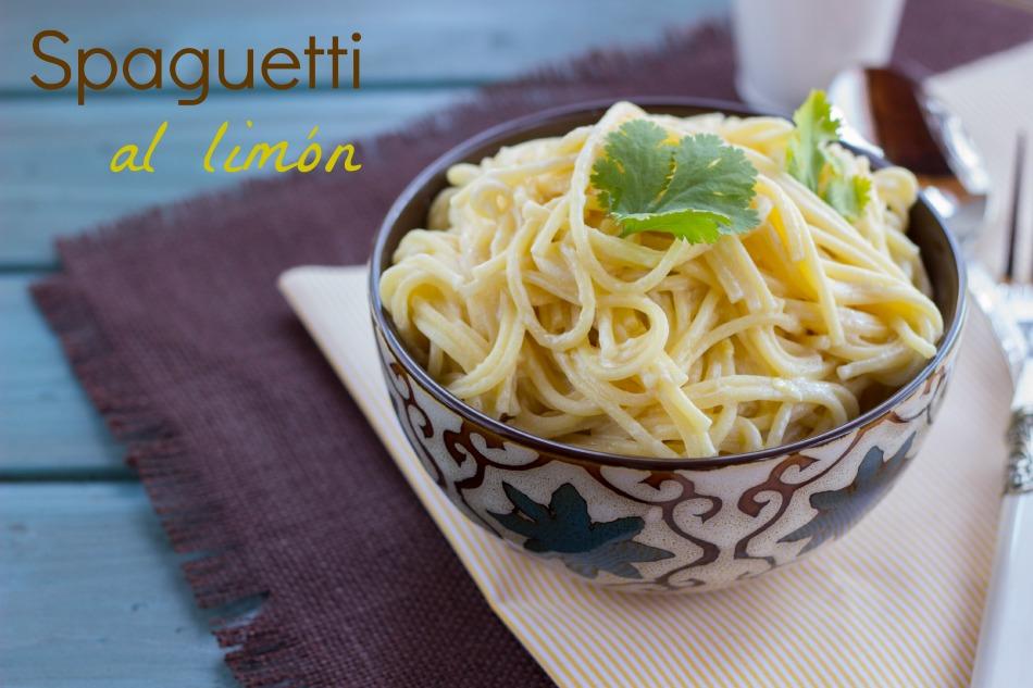 Spaguetti al limón