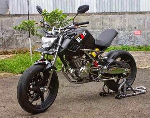 Modifikasi Honda Tiger Minor Fighter