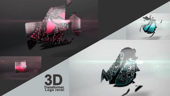 VideoHive 3D Transformer Logo