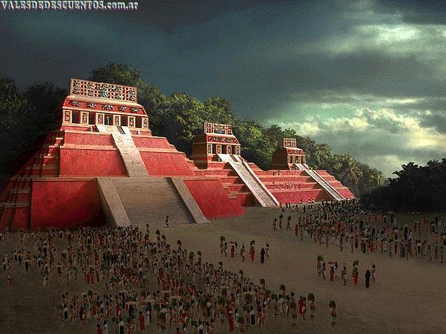 El zulo de las ideacas 7 profec as mayas for Las construcciones de los mayas