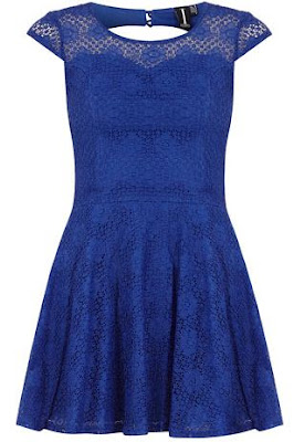 Dorothy Perkins blue lace dress
