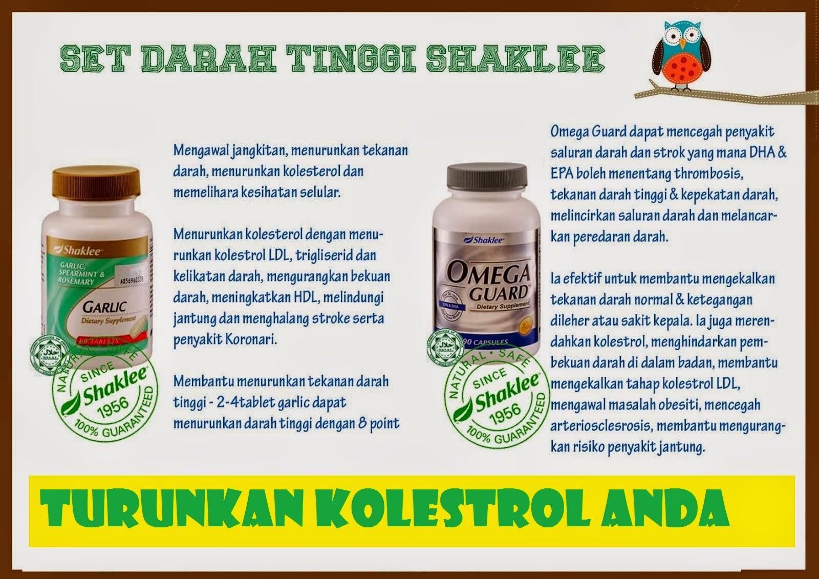 Garlic Shaklee Untuk Turunkan Kolestrol