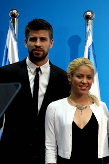 Shakira and Gerard Pique awaiting first child @osaseye.blogspot.com