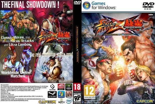 street fighter x tekken pc save game 100 download