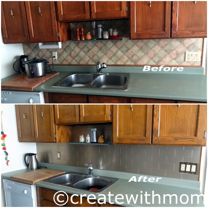 Our Kitchen Renovation Diy Project Using Aspect Metal