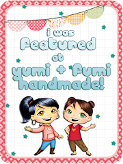 I was featured at Yumi & Fumi Handmade