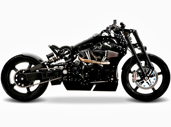 Confederate R131 Fighter: Aircraft-Grade Aluminum Motorcycle