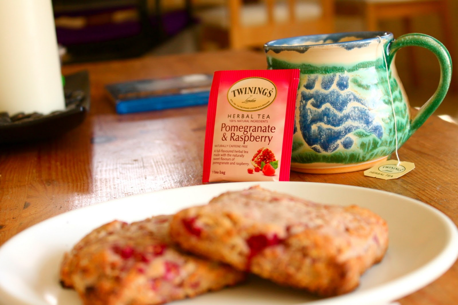 Whole Wheat Raspberry Ricotta Scones - Confectionary Tales ...