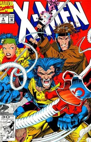 X-Men #4 comic pic
