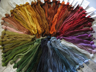 Victorian Motto Sampler Shoppe Hand Dyed Floss Giveaway
