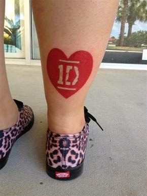 Tatuaje One Direction, http://distopiamod.blogspot.com