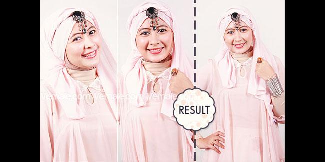 Cara Menggunakan Hijab Tampil Di Pesta Dengan Style Unik dan Anggun