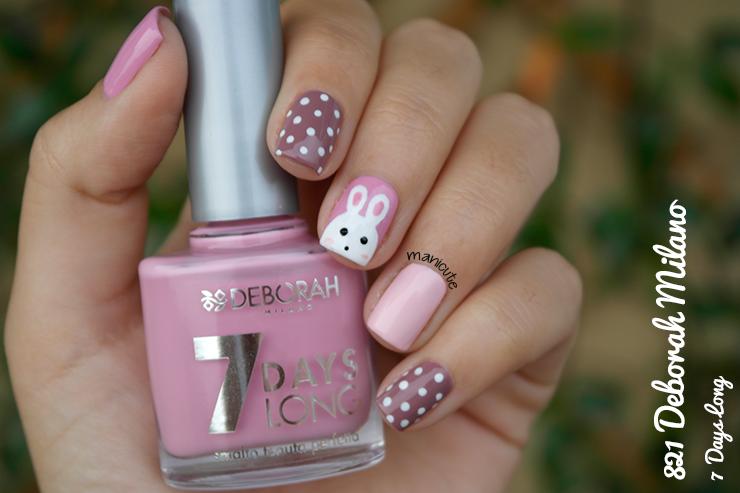 bunny nails, deborah milano