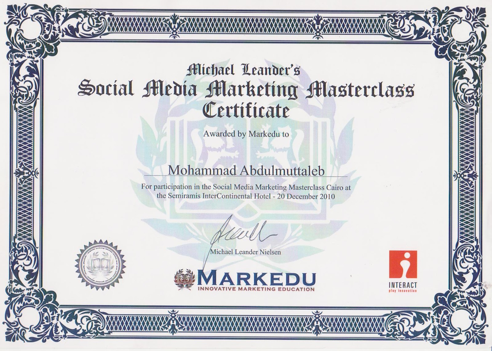Social Media Marketing Online Certificate Programmer Freelance How