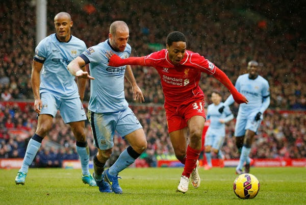 Manchester City Keok Di Kandang Liverpool