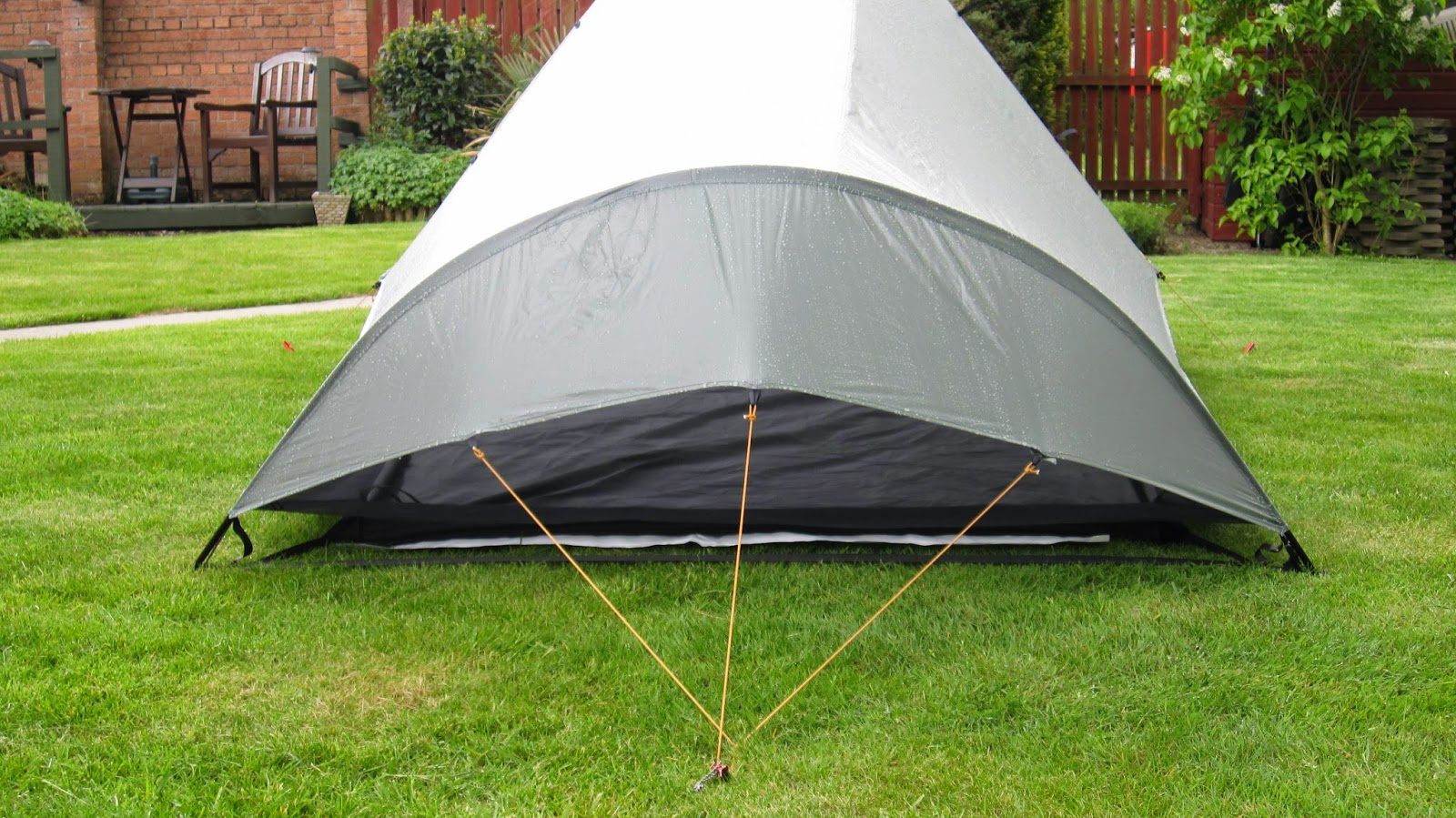 Single pegging point at rear & Tarptent Squall 2 | Kingdomguides blog by Murray Wilson