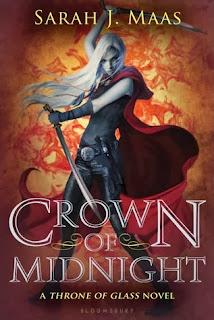 Crown of Midnight Sarah J. Maas book cover