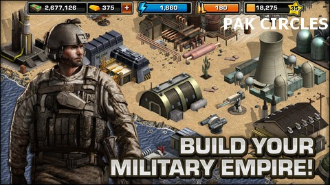 Modern War iOS Cheats (Full Unlocked)