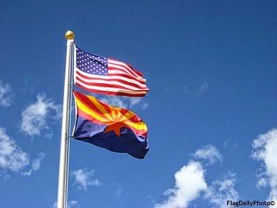 Arizona Flag American Flag Obama Sheriff Arpaio Birther Report