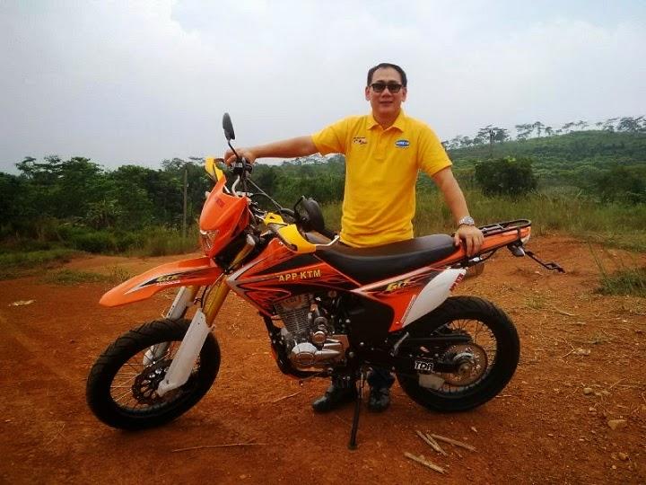Spesifikasi harga KTM Power Trek GTX 150, Motor Trail Murah