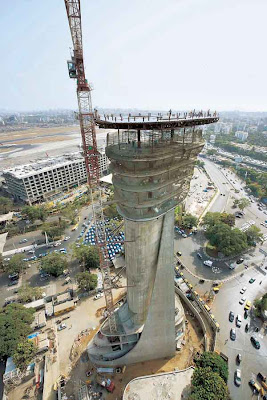 mumbai airport air control tower
