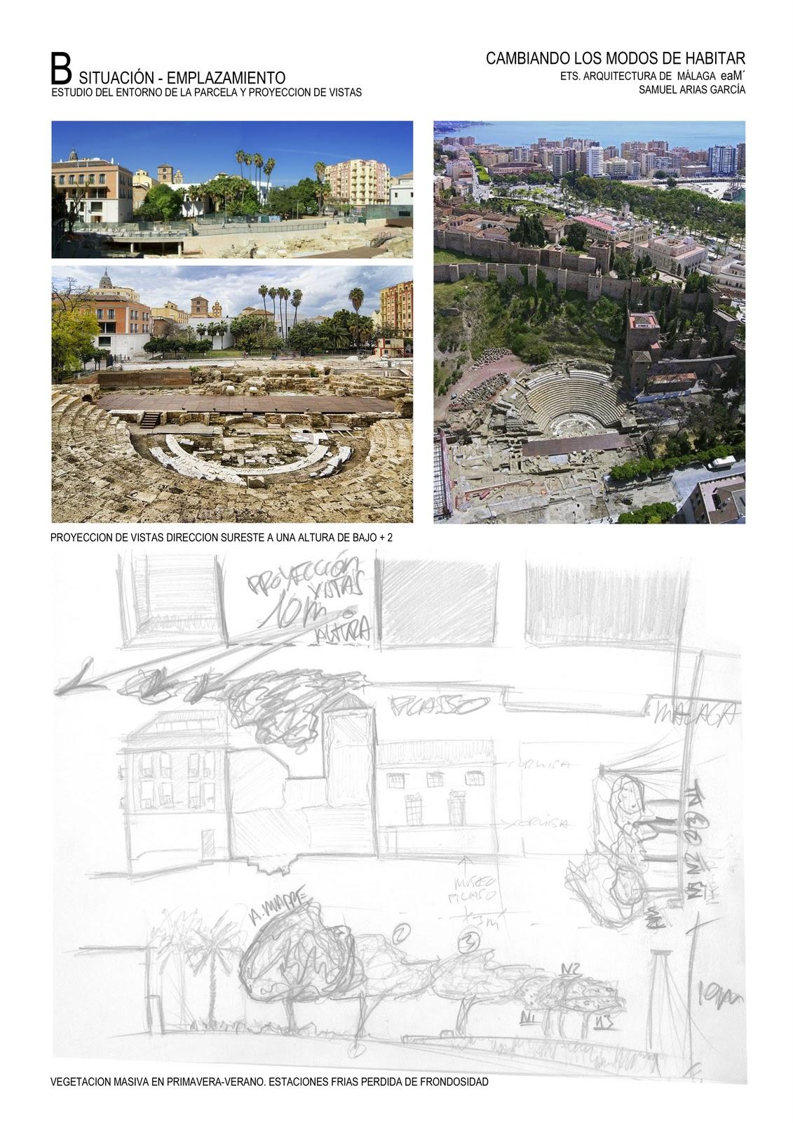 Sk studio cambiando los modos de habitar vivienda colectiva en calle alcazabilla - Ets arquitectura malaga ...