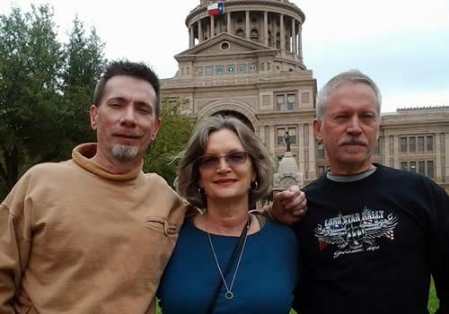 Rex, Paula, Dale