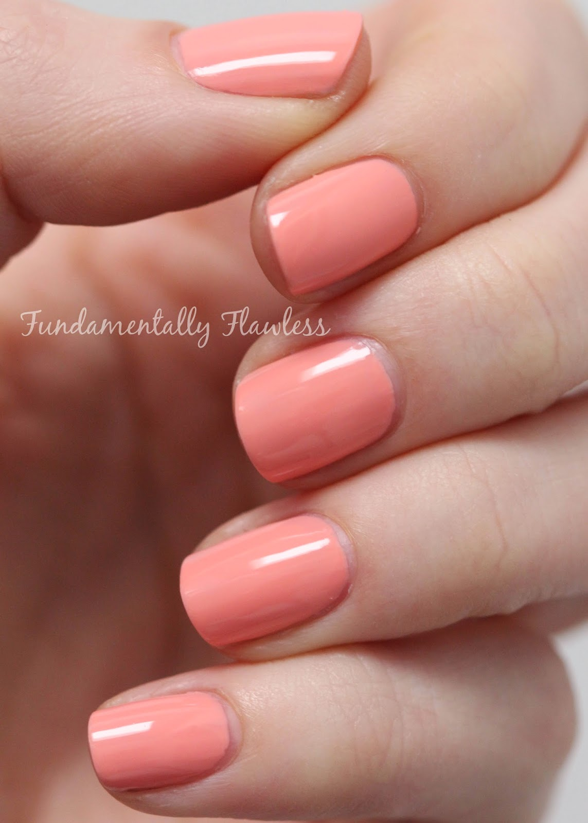 Models Own Long Beach Peach Hypergel swatch