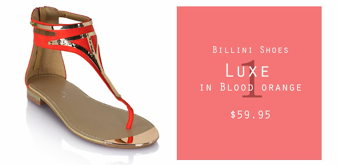 Billini Shoes Luxe Blood Orange