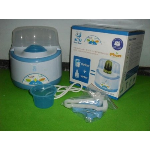 how to use bottle sterilizer