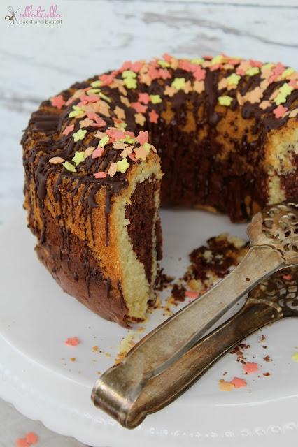 Rezept für Marmorkuchen mit Quittengelee