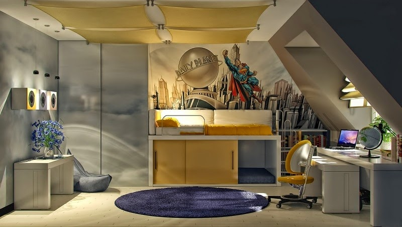 22 kids room decorating ideas for teen boys - Teen Boy Room Decorating