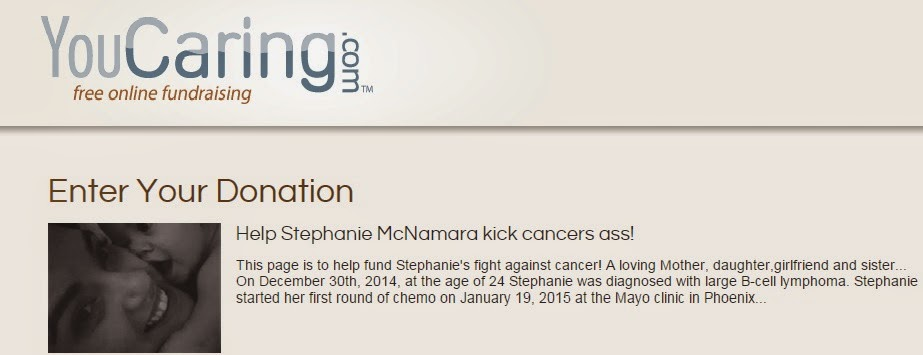 Help Stephanie kick Cancers Ass!