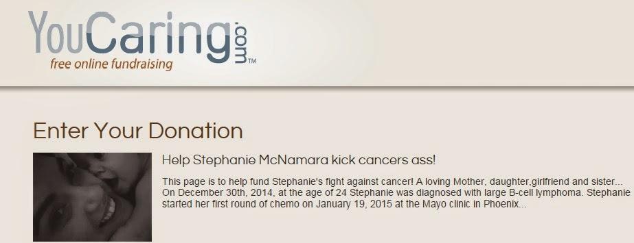 Help Stephanie kick Cancers Ass!