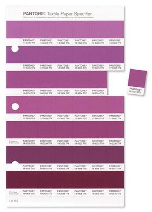 Pantone Radiant Orchid color palette
