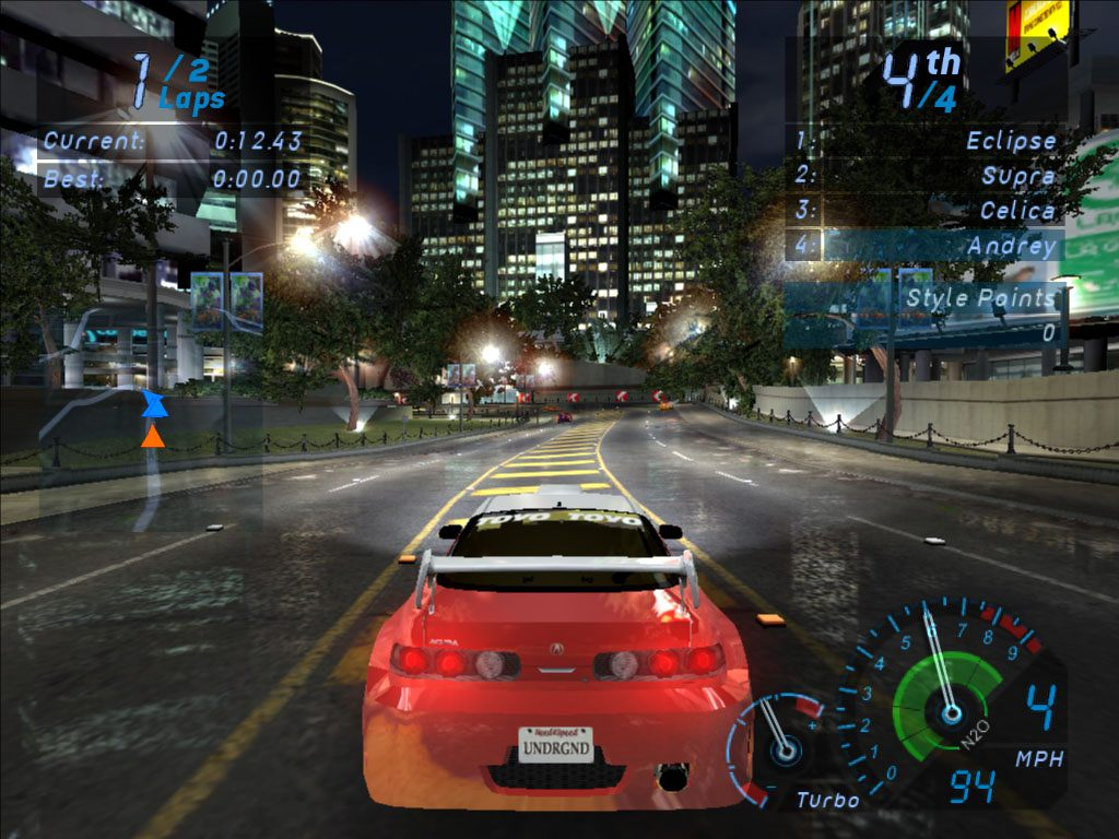 Need For Speed Underground Full Version Free Download PC Game