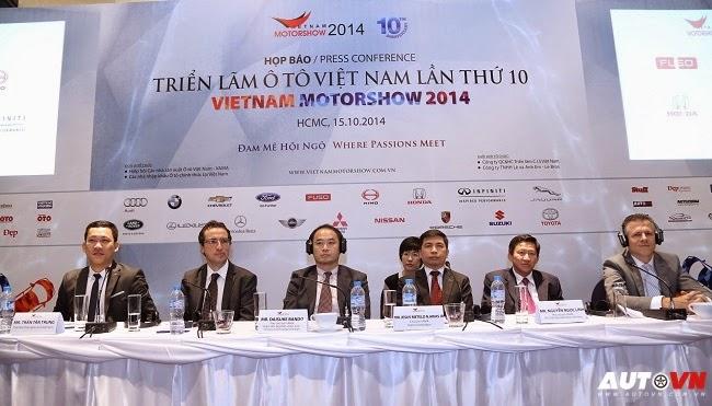 Vietnam Motor Show 2014