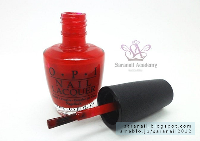 OPI Nail Laquer NL N25 Big Apple Red