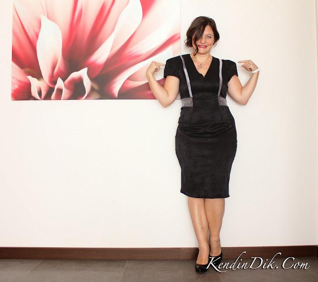 siyah elbise moda tasarım dikiş blog