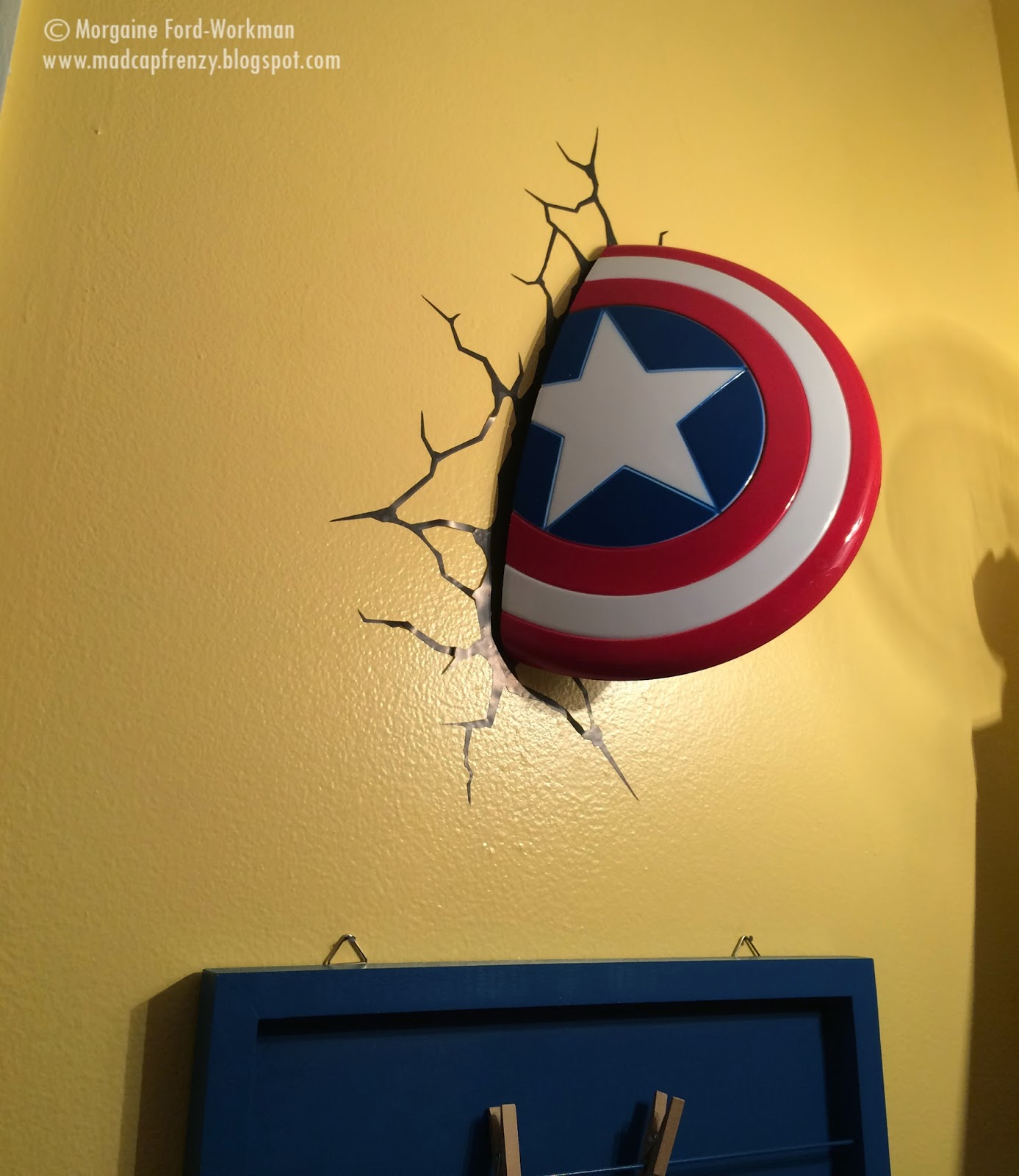 Madcap Frenzy's Superhero bathroom update and makeover
